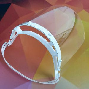 FACE SHIELD - PROTETOR FACIAL Tiara regulável + PETG 0,5mm ADULTO / INFANTIL